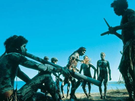 Tribal-aboriginal-digeridoo-